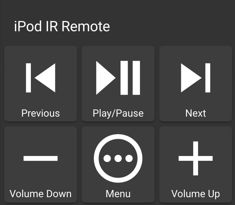 Lovelace iPod IR Remote Card