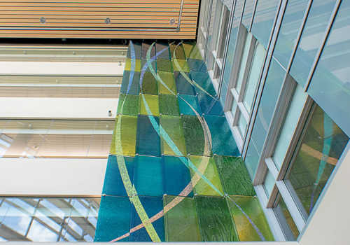 Meltdown Glass - Gundersen Health System - La Crosse, WI