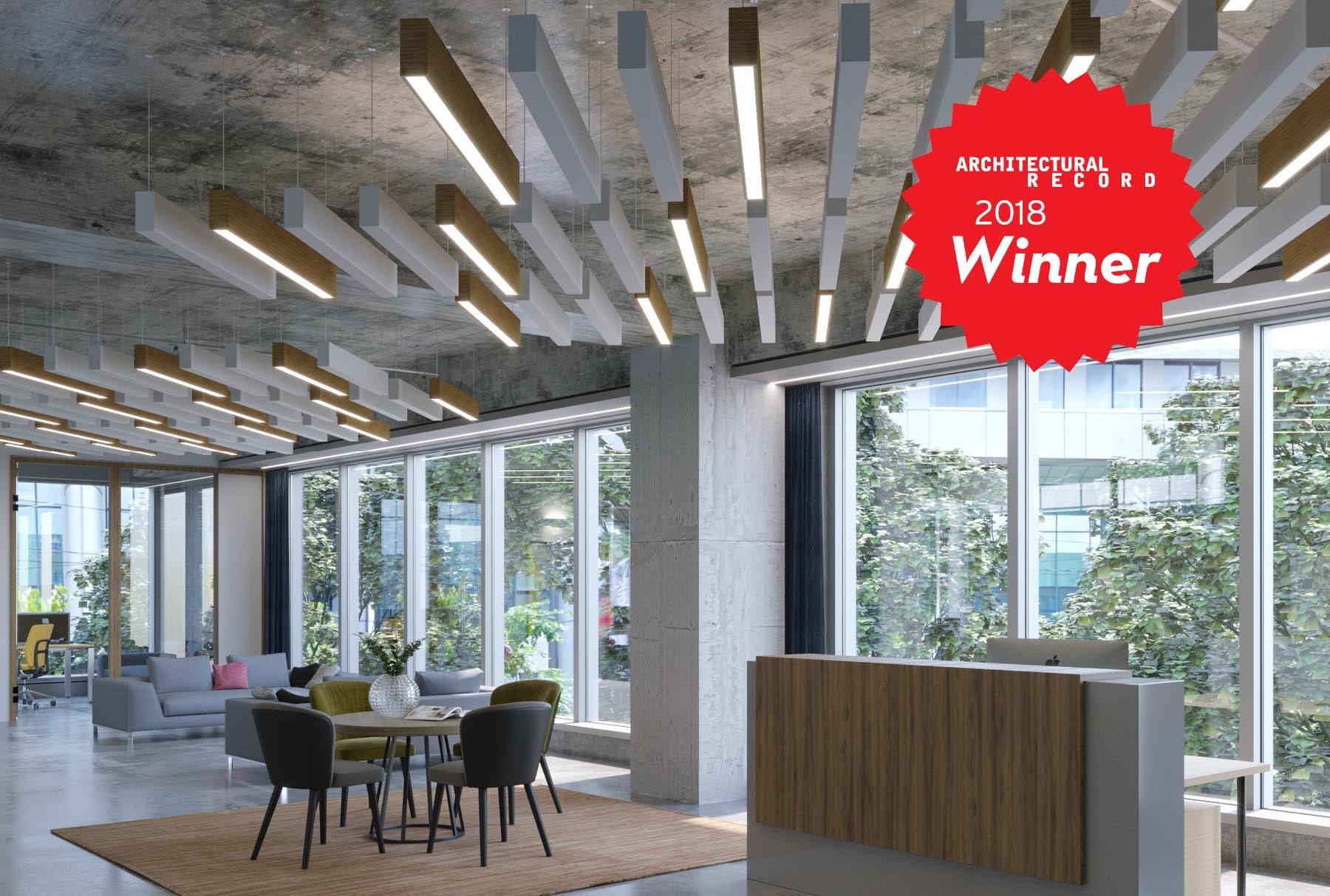 Arktura SoundBar Architectural Record Winner