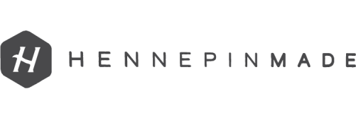 Hennepin Made Logo Dark