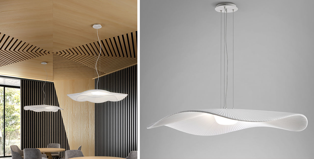 New Bover Lighting Loop Architectural Materials
