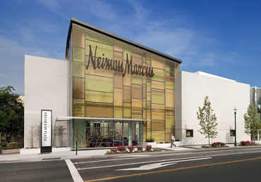 Meltdown Glass - Neiman Marcus - Walnut Creek, CA