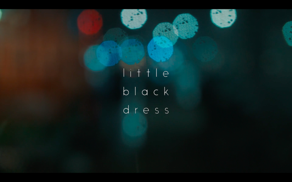 Little Black Dress Title