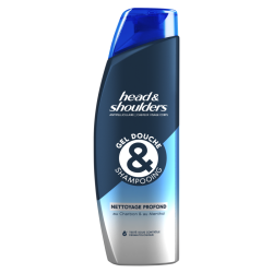 Gel Douche Et Shampoing Antipelliculaire Pour Homme Nettoyage Profond - Main Image