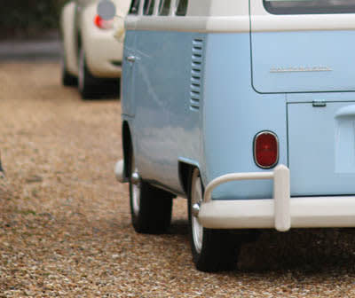 Lock up image for Honcho with blue campervan