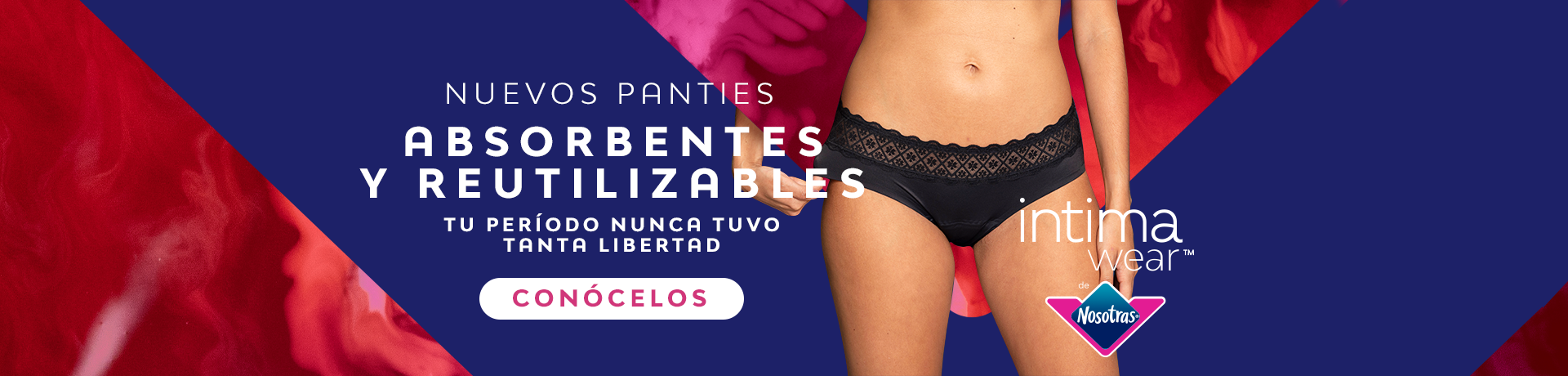 Banner inferior nuevos panties intima wear