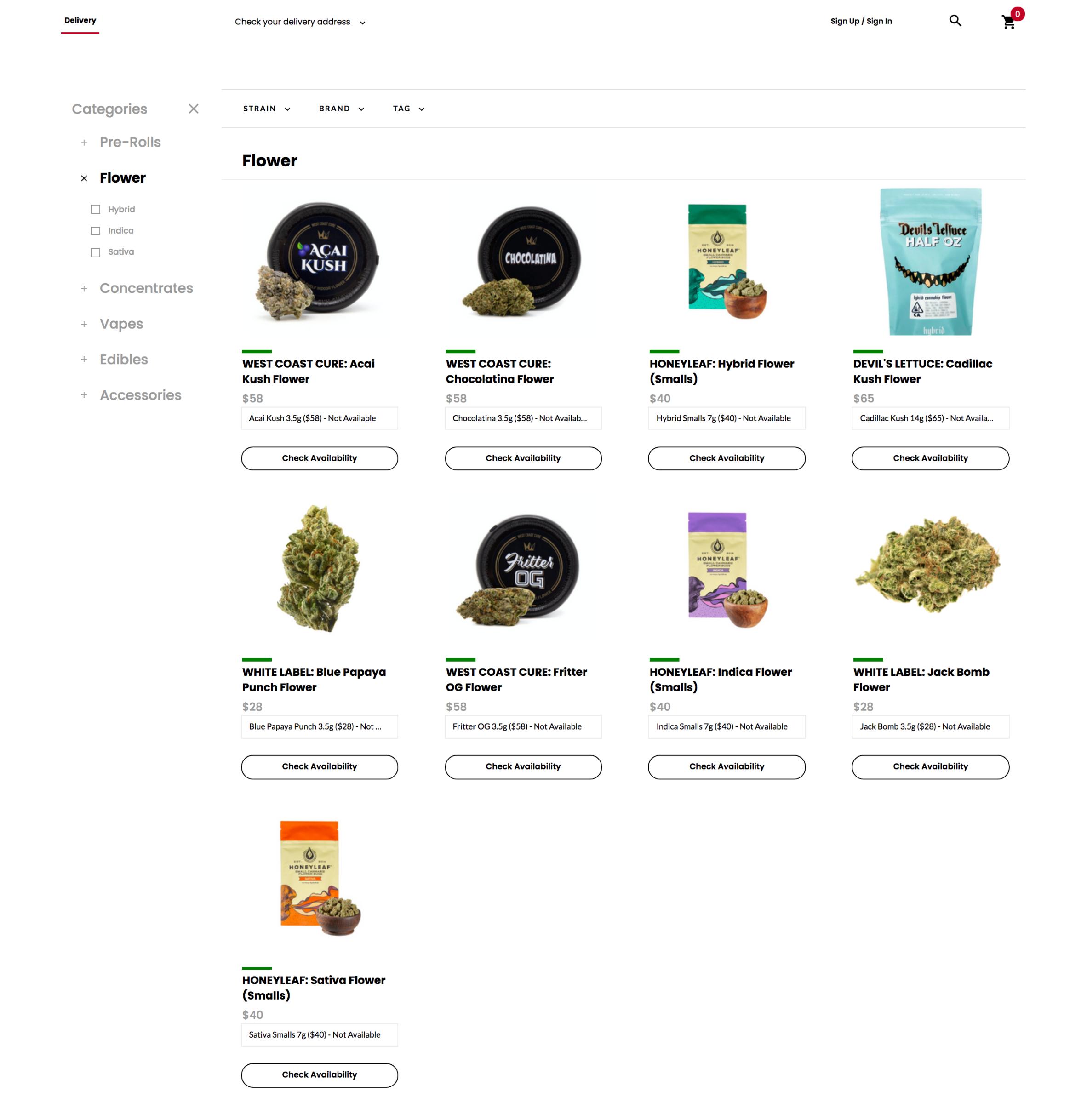 Shop our online store.
