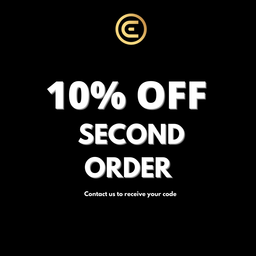 10% OFF SECOND ORDER