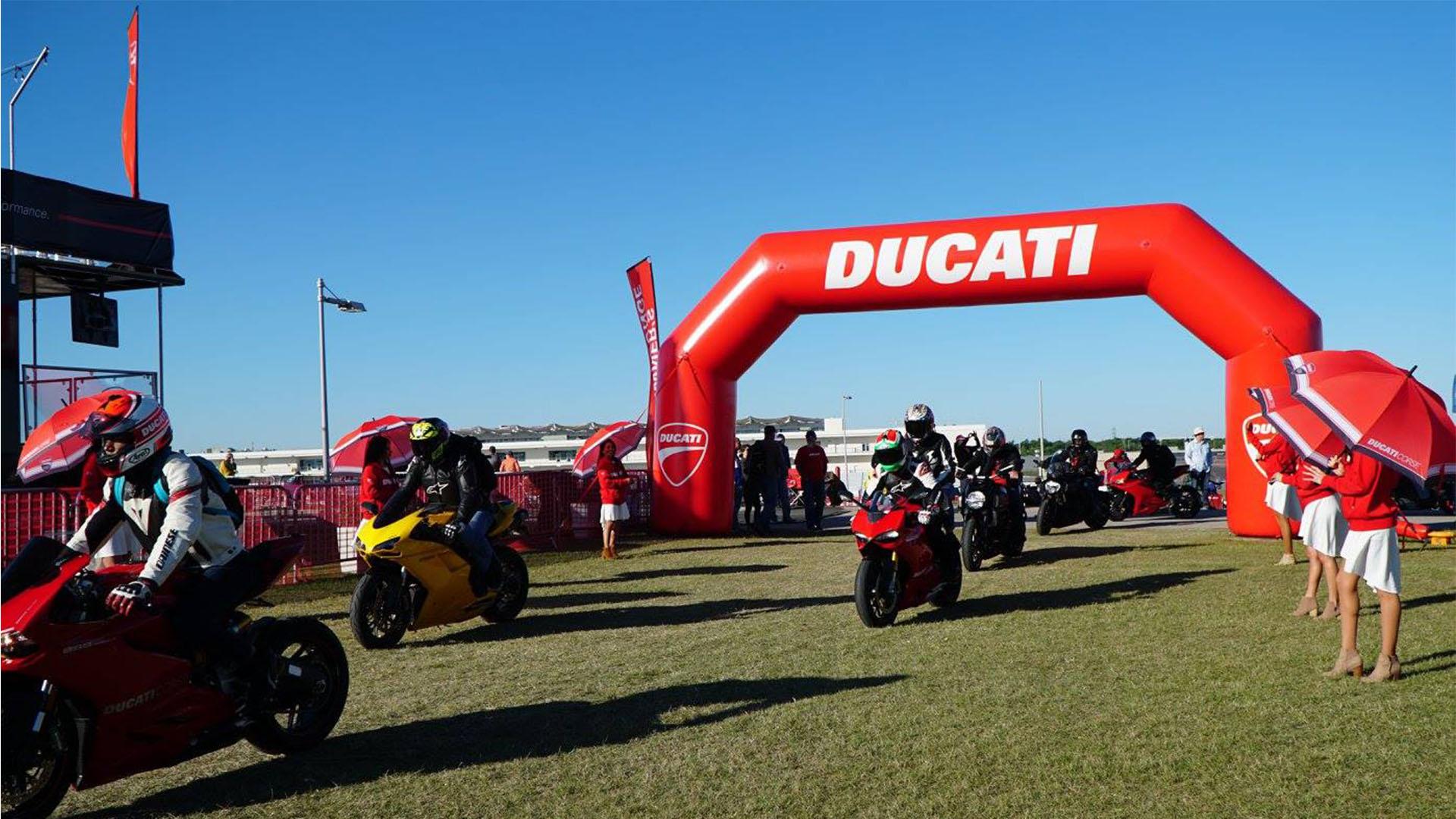 2018 Ducati Island At Circuit Of The Americas
