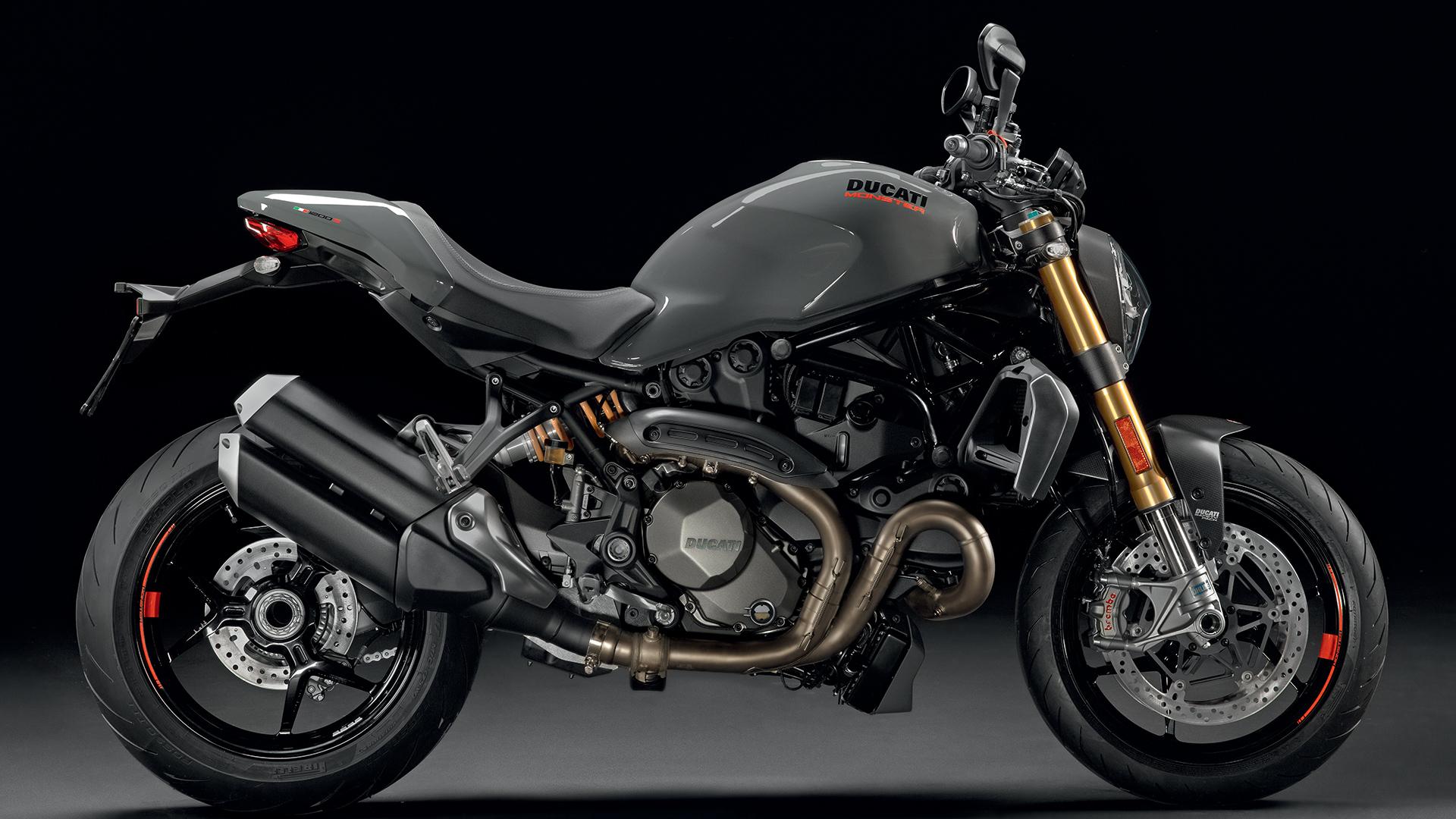 ducati monster 1200 - high performance naked bikes