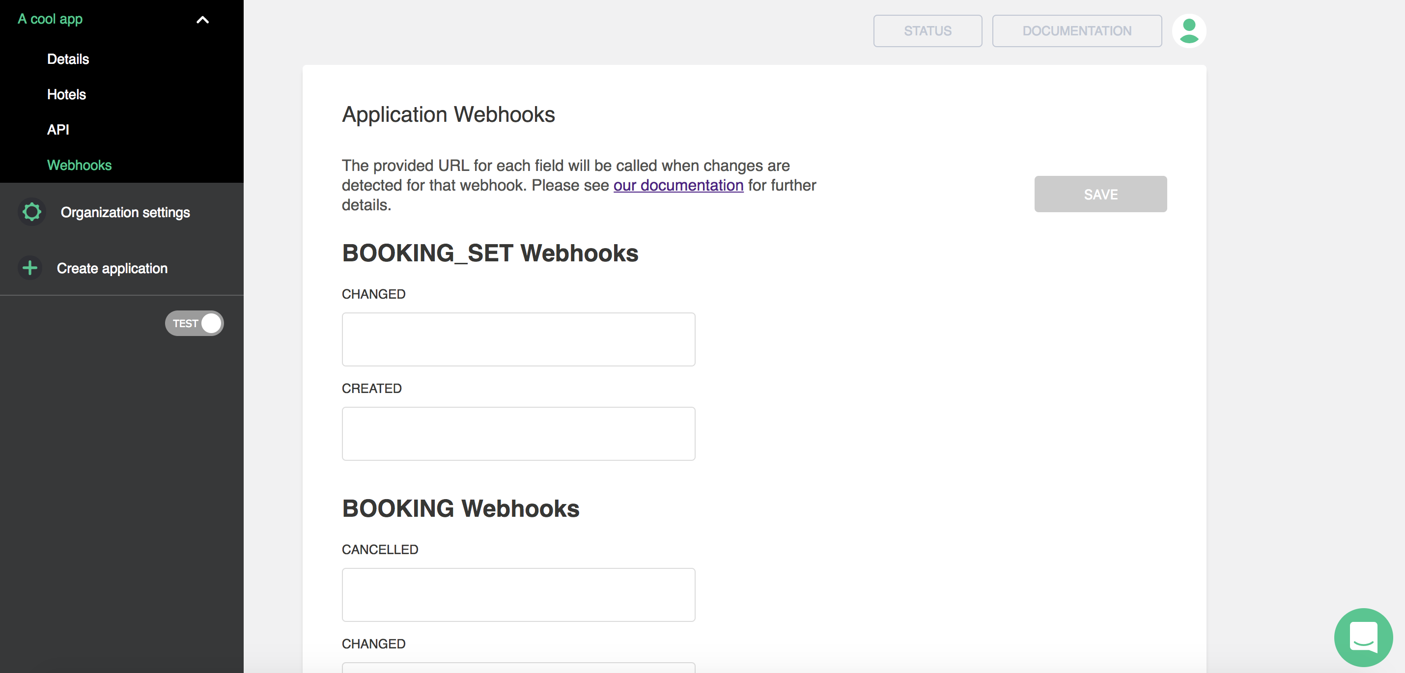 screenshot webhooks