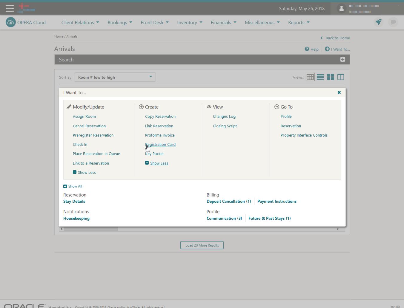 API Integration with Oracle Hospitality Opera – Impala