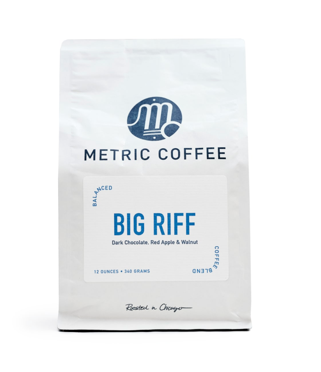 Metric Big Riff Coffee