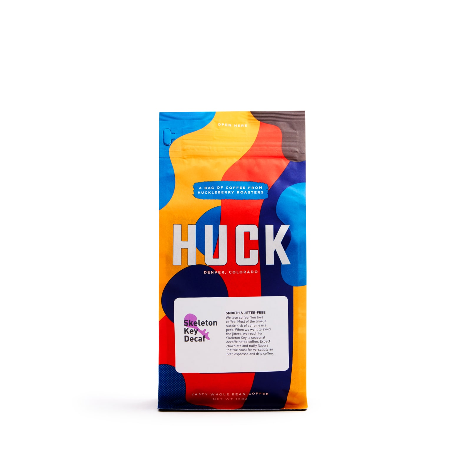 Huck skeleton key decaf