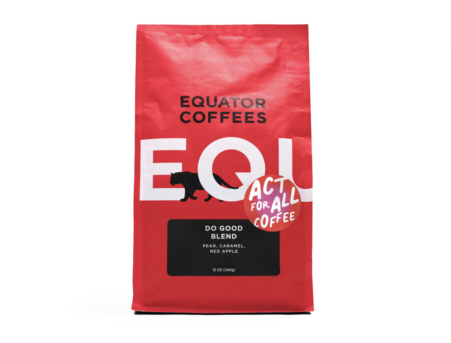equator act for all coffee do good blend