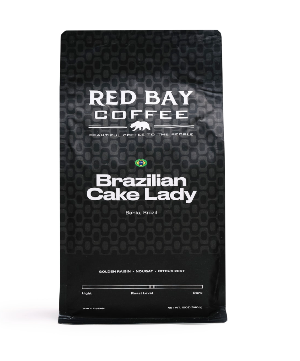 Red Bay Brazilian Cake Lady coffee