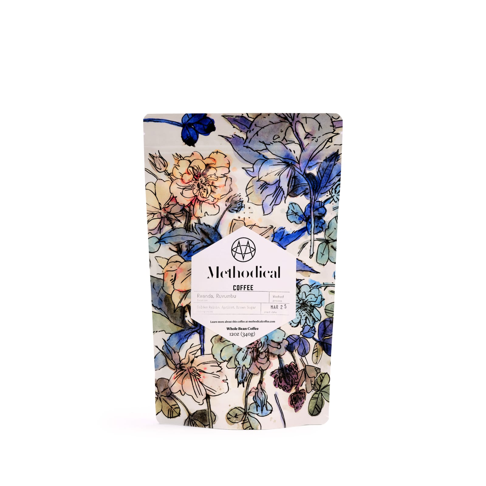 Methodical Rwanda Ruvumbu coffee bag
