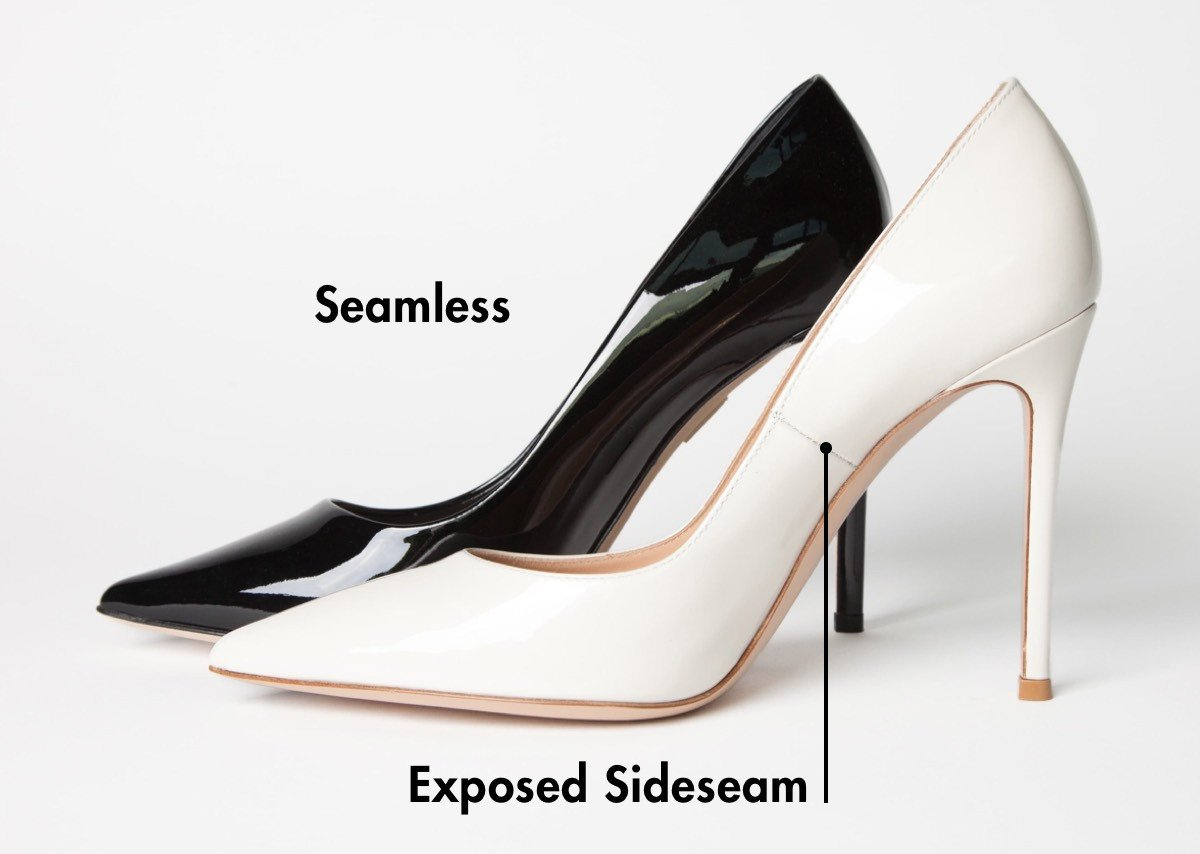 Seamless vs Exposed Sideseam