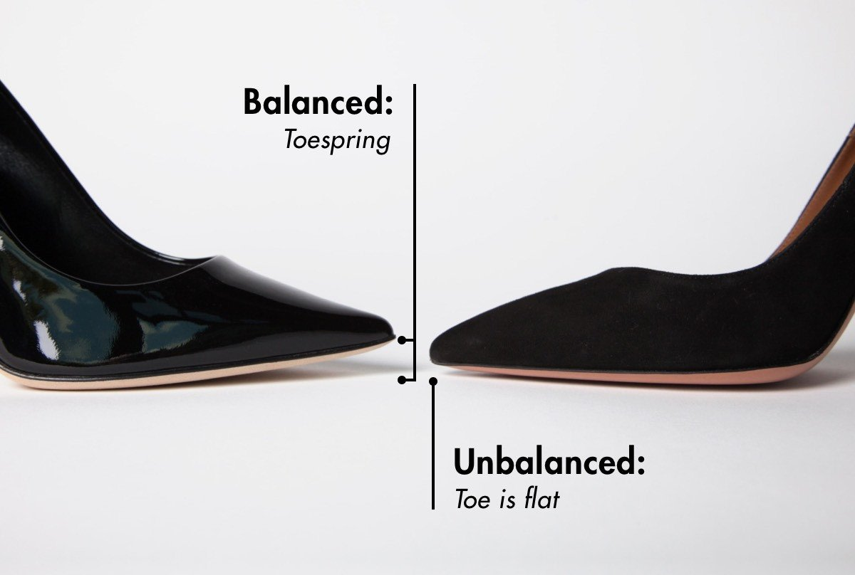 Balanced Shoe vs Unbalanced Shoe