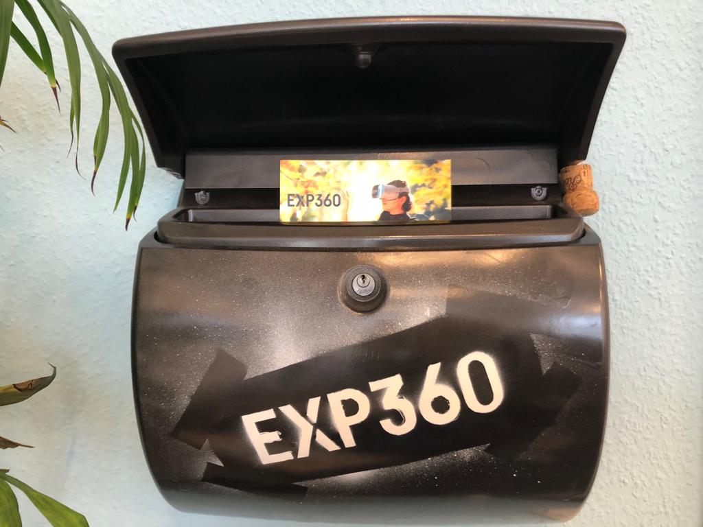 EXP360 Mailbox with flyer