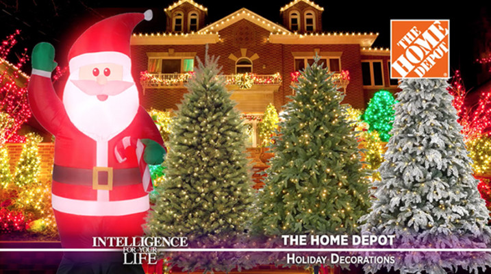 Home Depot Christmas Decoration Ideas: Holiday Decorations