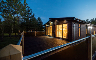 Lovely lodges for an exhilarating escape