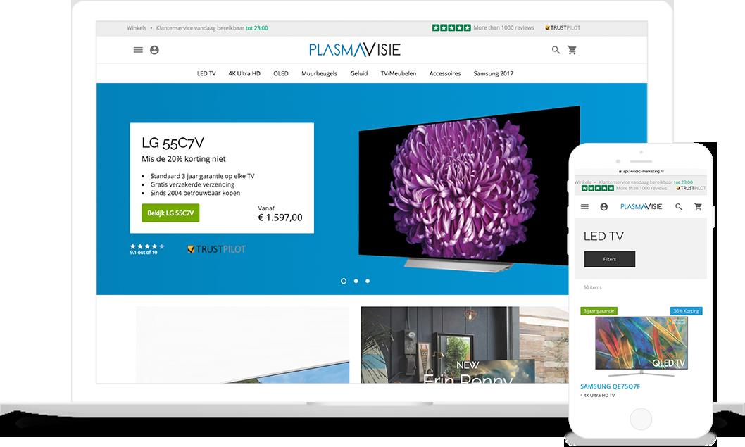 plasmavisie#Macbook#Iphone