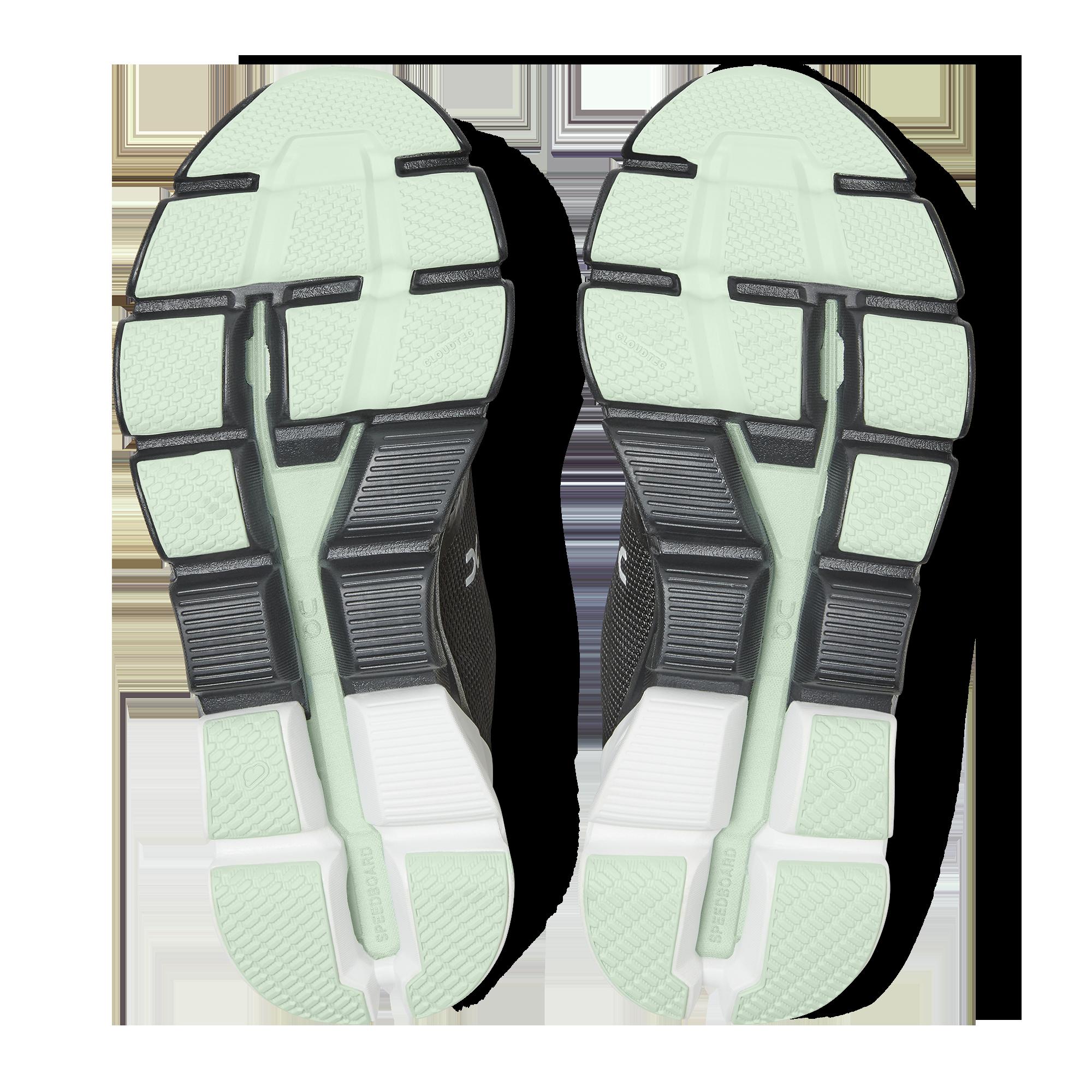 On Running Cloudflyer Chaussures de course imperm/éables pour femme Noir