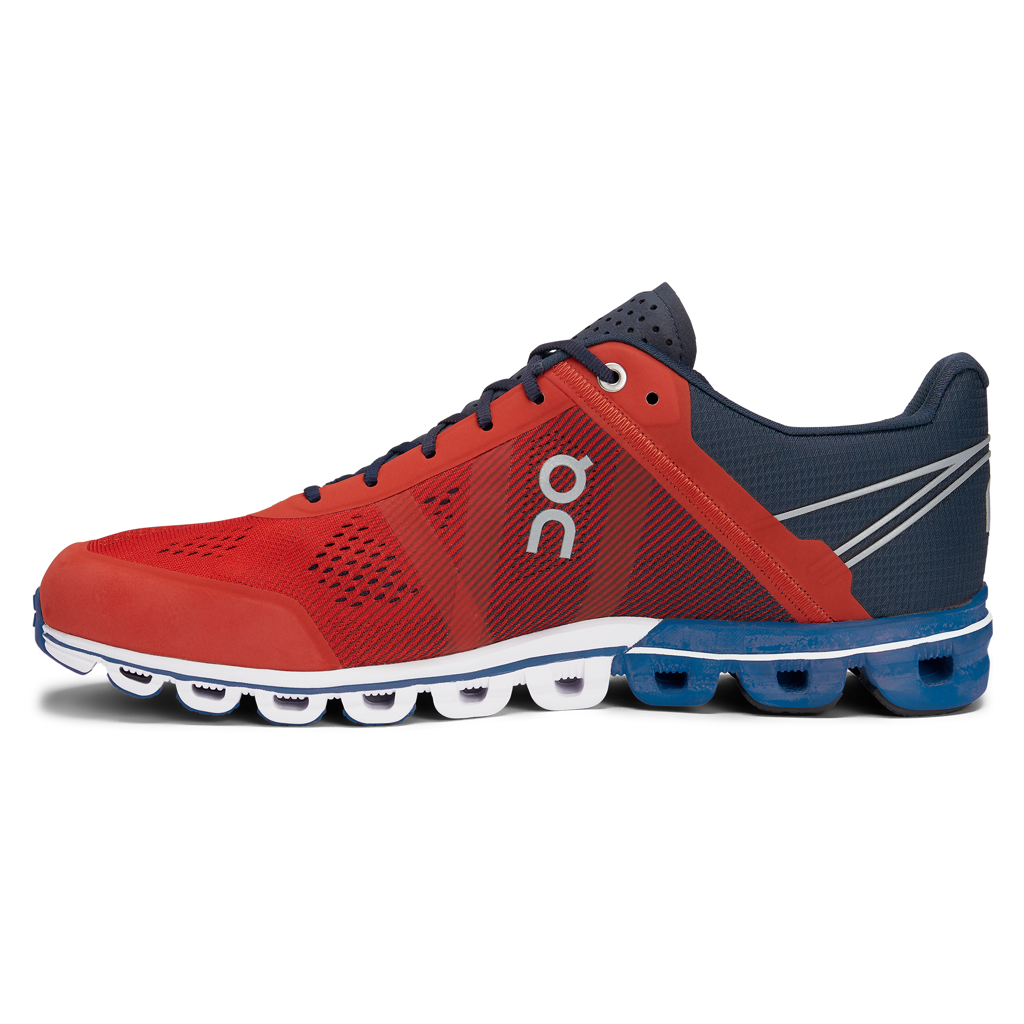 on cloud shoes red