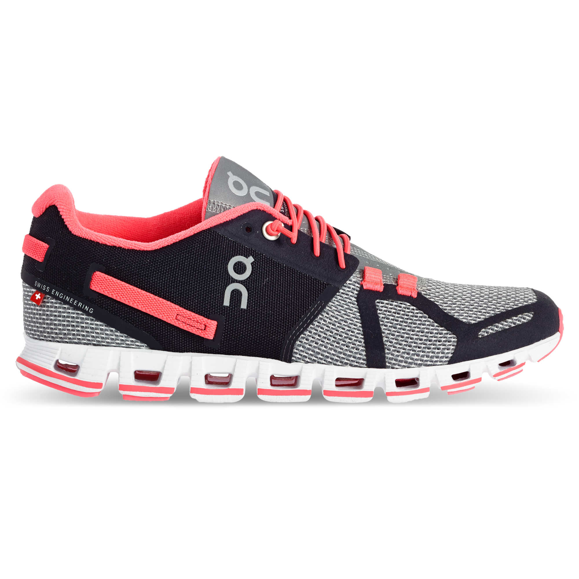 auf Abstand Performance Schuhe Damen On Cloud Neon Pink