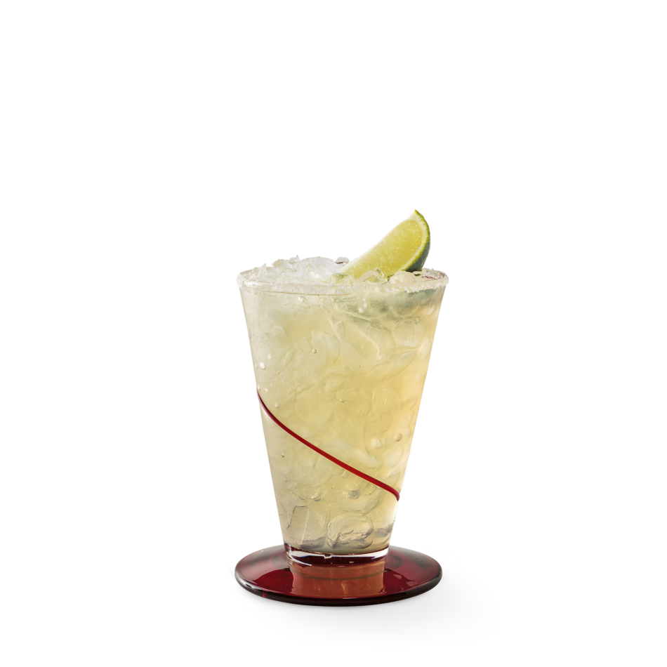 1800® Reposado 100% Blue Agave tequila, Cointreau® and margarita mix on the rocks or frozen.