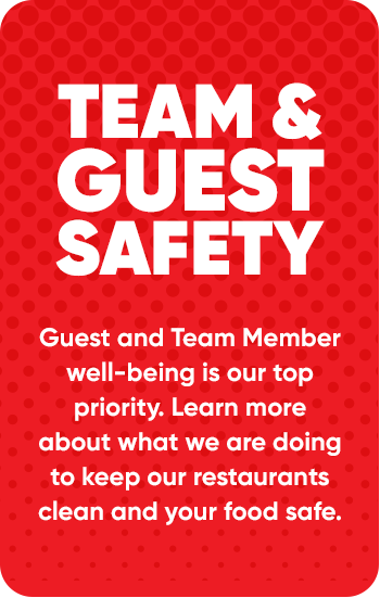 Team Member & Guest well-being is our top priority. Learn more.