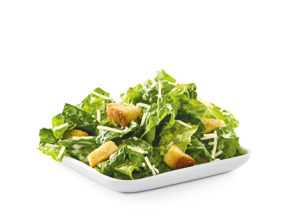 Romaine lettuce, croutons and shredded Parmesan with Caesar dressing.