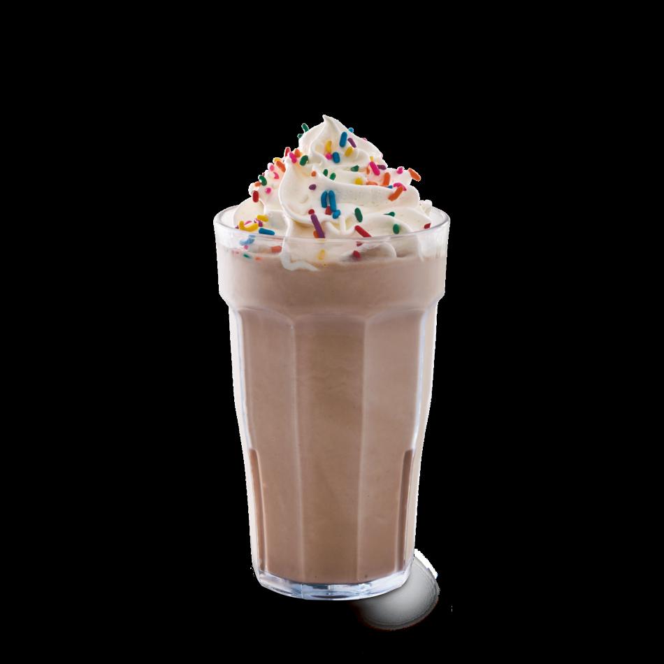 Chocolate, vanilla, strawberry, banana or raspberry