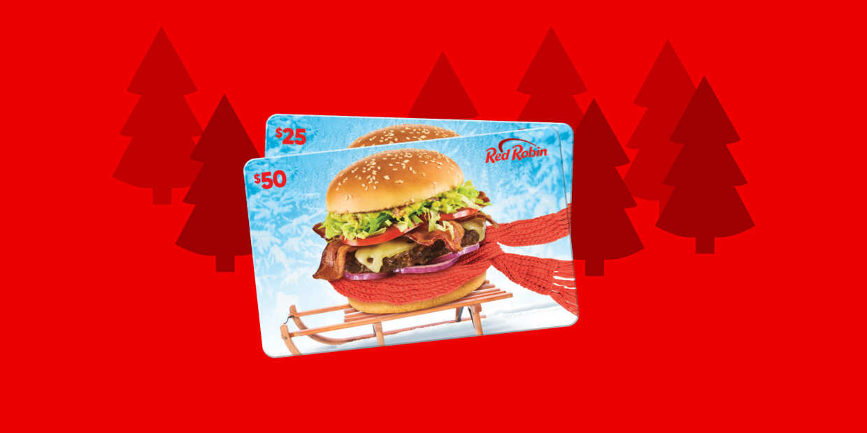Red Robin Gift Cards Us Holiday Red Robin