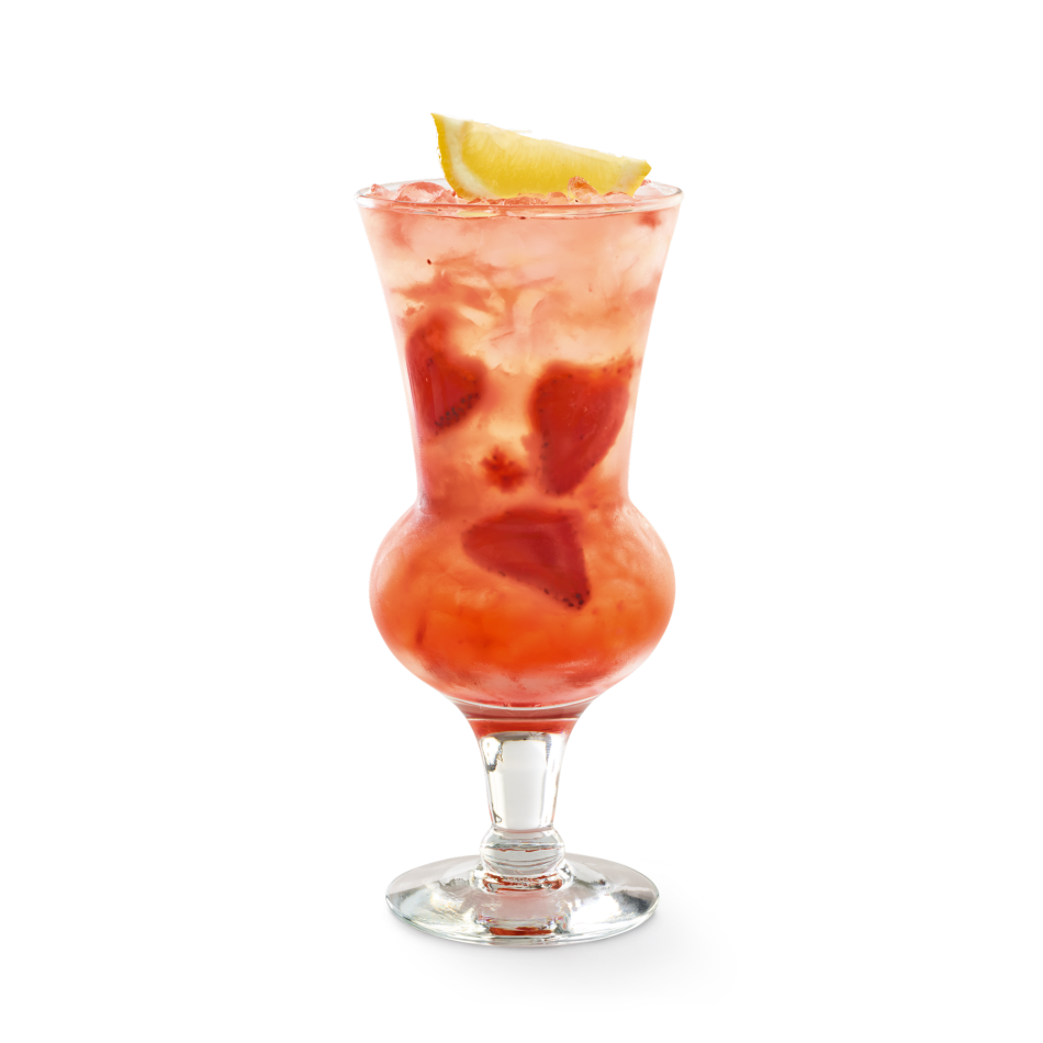 Smirnoff® Citrus vodka, strawberries and lemonade.