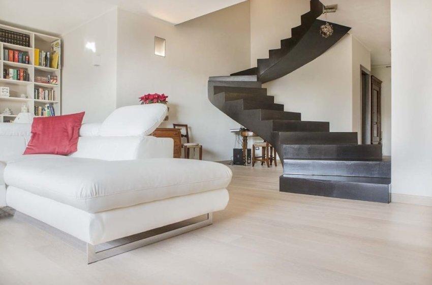 Favoloso Pavimento in legno Plancia in Rovere Bianco Londra - Plance e MN59