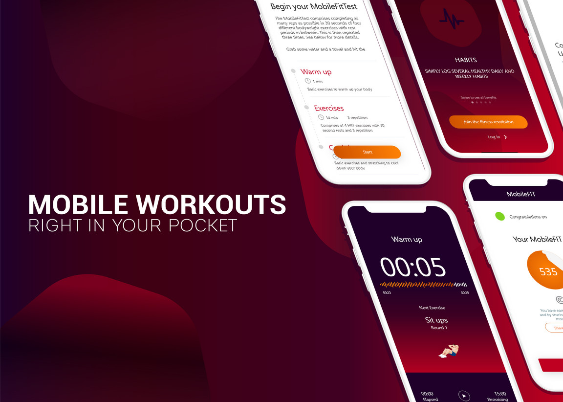 Preview image for Personal Fitness App Development