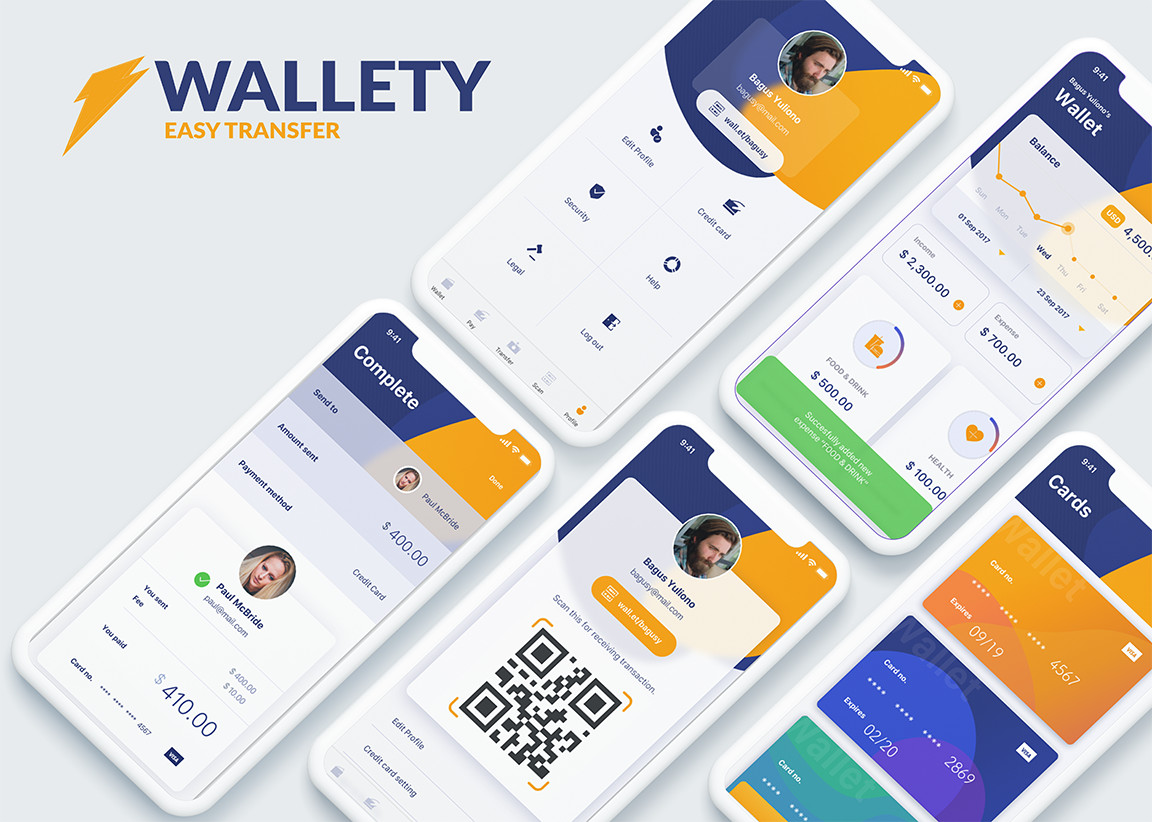 Preview image for Mobile Digital Wallet App