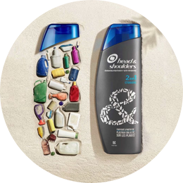 World's 1st Beach Plastic Shampoo Bottle