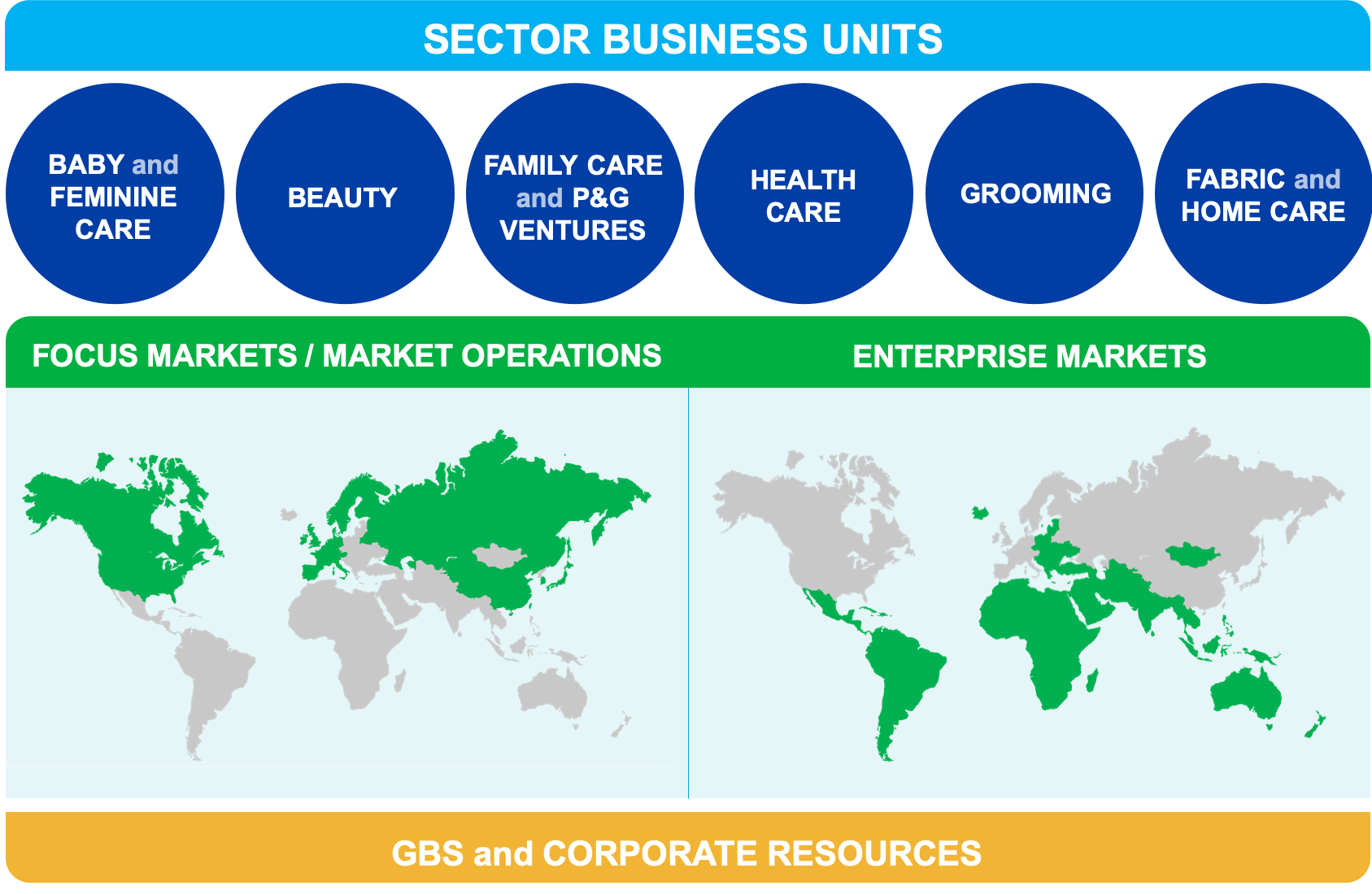 Sector business units