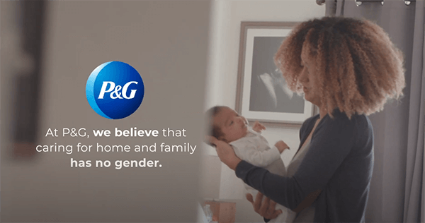 Parenting has no gender - P&G paternity leave, P&G maternity leave, P&G parental leave