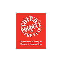 Voted Product of the year award logo