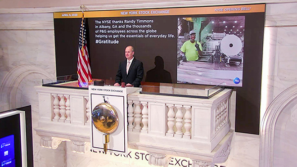 NYSE Bell Podium