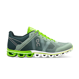 Cloudflow moss lime intro stat shoes