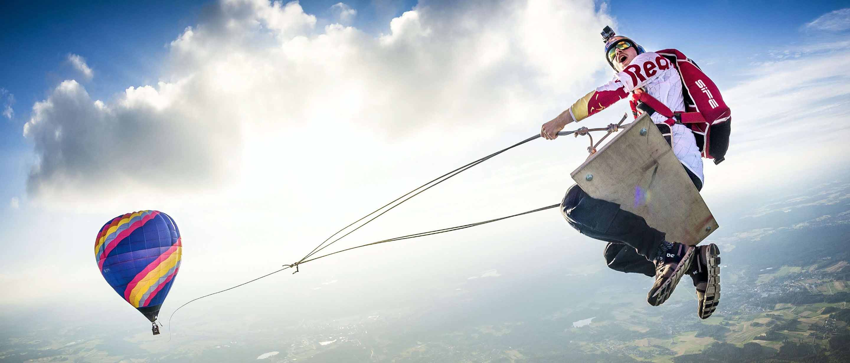 Red Bull Skydive >> Red Bull Skydive Team On Swiss Performance Running Shoes Clothing