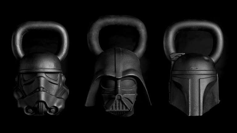 Channel the Dark Side in Your Home Gym With These 'Star Wars' Kettlebells: Onnit