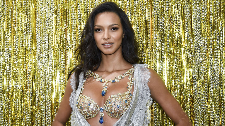 Watch Victoria's Secret Angel Lais Ribeiro Model a $2 Million Bra: Invision/AP/REX/Shutterstock