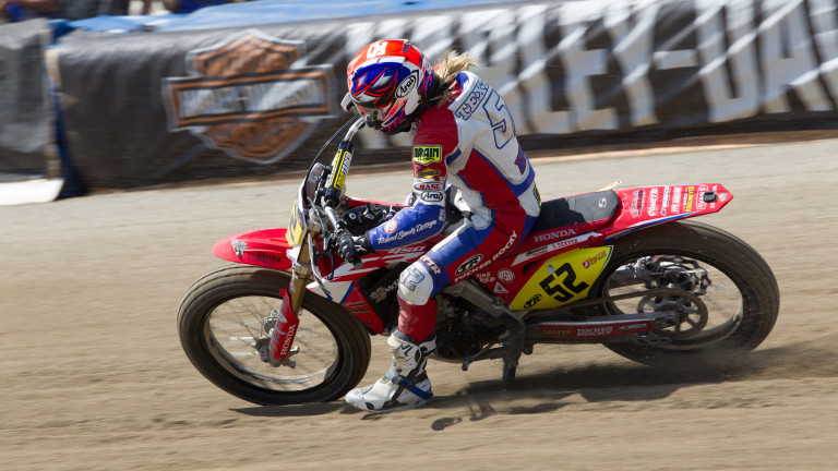 Flat Track Champion Shayna Texter Was Born to Race: American Flat Track