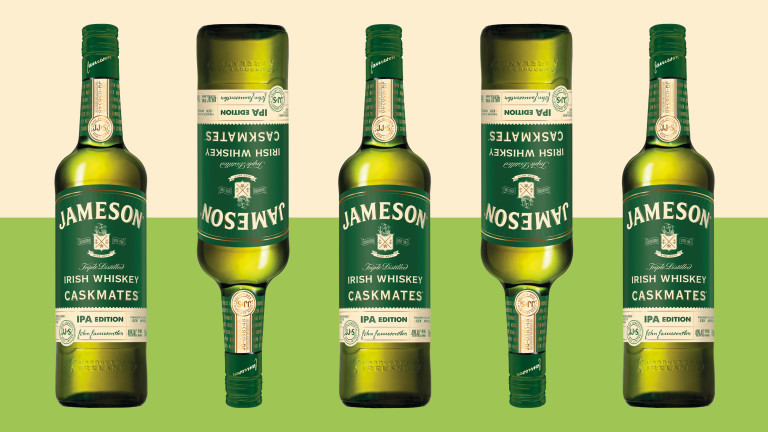 Jameson's New Whiskey Is Finished in IPA Barrels:
